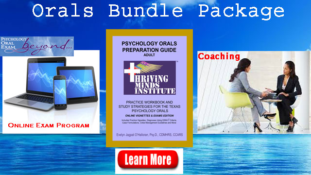 Psychology Oral exam study bundle